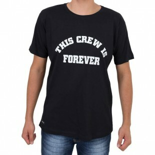 Camiseta Even This Crew Preta