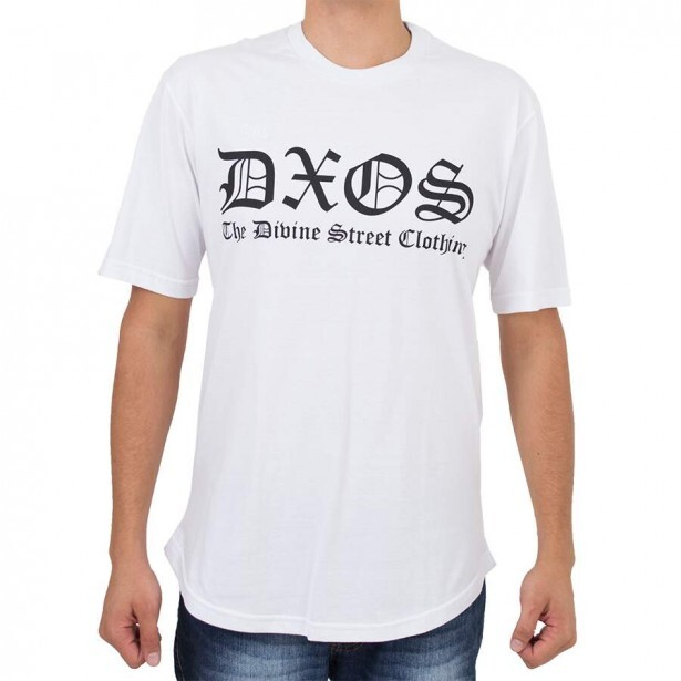 Camiseta Dios The Divine Street Clothing Branca
