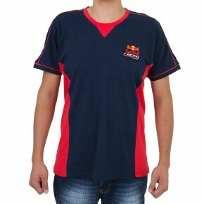Camiseta New Era Red Bull Marinho