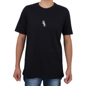 Camiseta New Era Chicago White Sox Mini Logo Preta