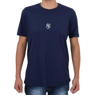 Camiseta New Era New York Yankees Mini Logo Marinho