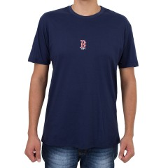 Camiseta New Era Boston Red Sox Mini Logo Marinho