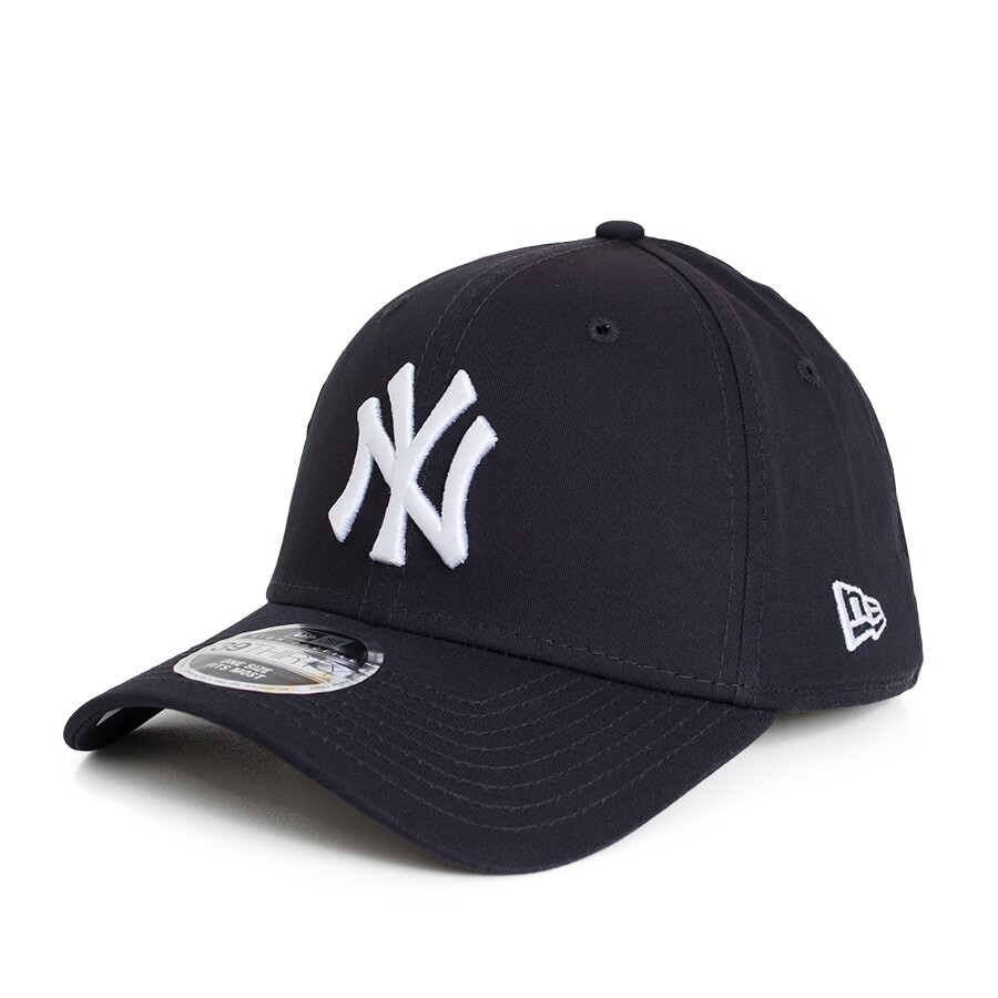 Boné New Era 39Thirty New York Yankees Aba Curva Marinho