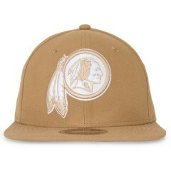 Boné New Era Snapback Washington Redskins Original Fit Marrom