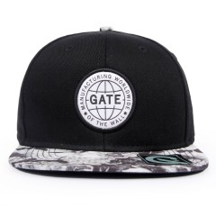 Boné Gate Snapback Worldwide Preto