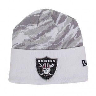 Gorro New Era Oakland Raiders Branco / Cinza