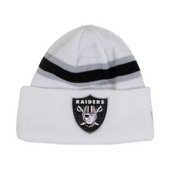 Gorro New Era Oakland Raiders Branco