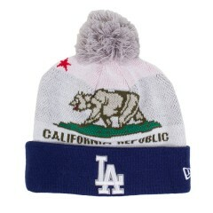 Gorro New Era Los Angeles Dodgers Branco / Marinho