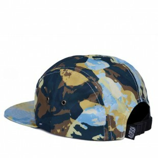 a42ecc52a4aeb ... Boné Aversion Strapback Five Panel Paint Verde
