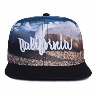 Boné Aversion Snapback California Azul