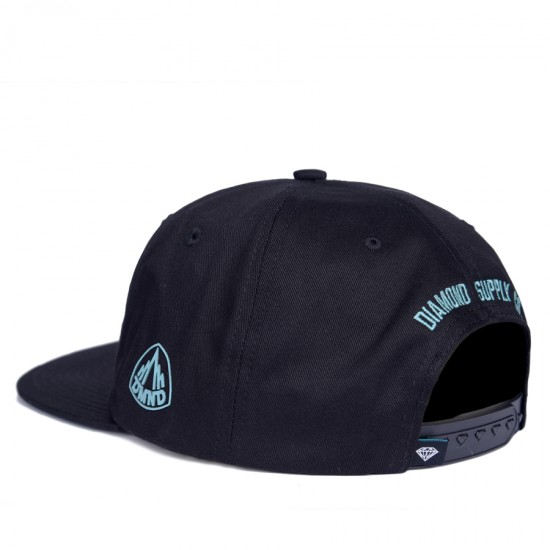 Boné Diamond Snapback Brilliant Preto