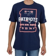 Camiseta New Era England Patriots Marinho