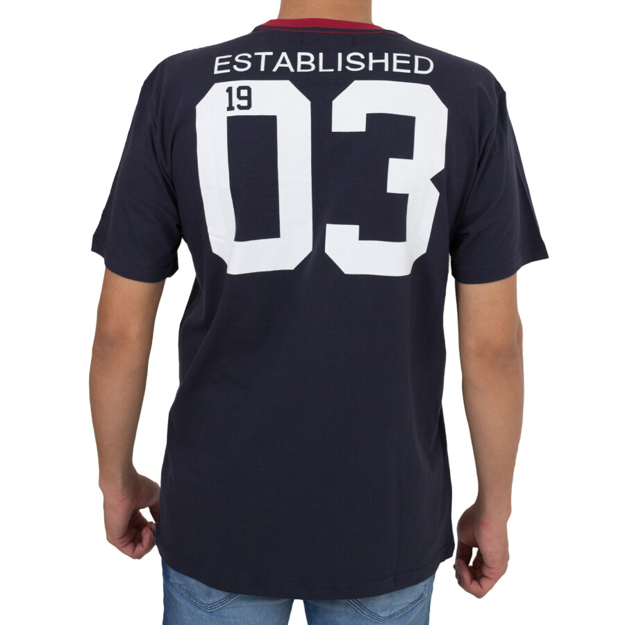 Camiseta New Era New York Yankees Marinho