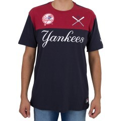 Camiseta New Era New Yourk Yankees Marinho