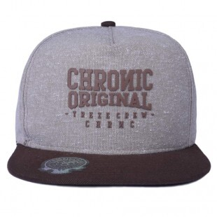 Boné Snapback Chronic Grape Marrom