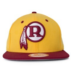 Boné New Era Snapback Washington Redskins Original Fit Amarelo