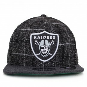 Boné New Era Snapback Oakland Raiders Original Fit Preto