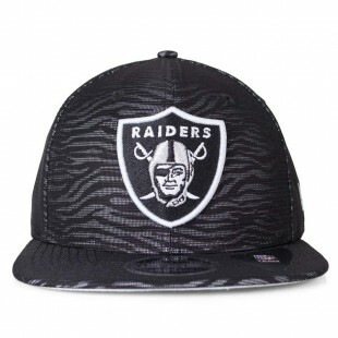 Boné New Era Snapback Oakland Raiders Animal Original Fit Preto