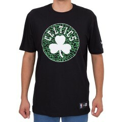 Camiseta New Era Boston Celtics Preta