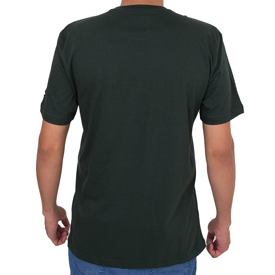 Camiseta New Era Camu Verde