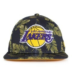 Boné New Era Snapback Los Angeles Lakers Original Fit Preto / Verde