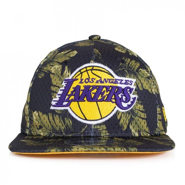 01a4335fc8a56 Boné New Era Snapback Los Angeles Lakers Original Fit Preto   Verde - DEP  Store - Roupas Lifestyle