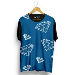 Camiseta Dep Diamantes Azul