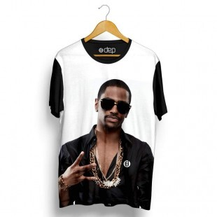 Camiseta Dep Big Sean Gold Branca