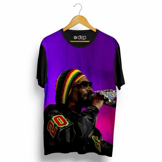 Camiseta Dep Snoop Dogg Jamaica