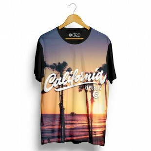 Camiseta Dep California Republic Por do Sol
