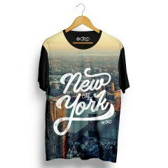 Camiseta Dep New York City Preta