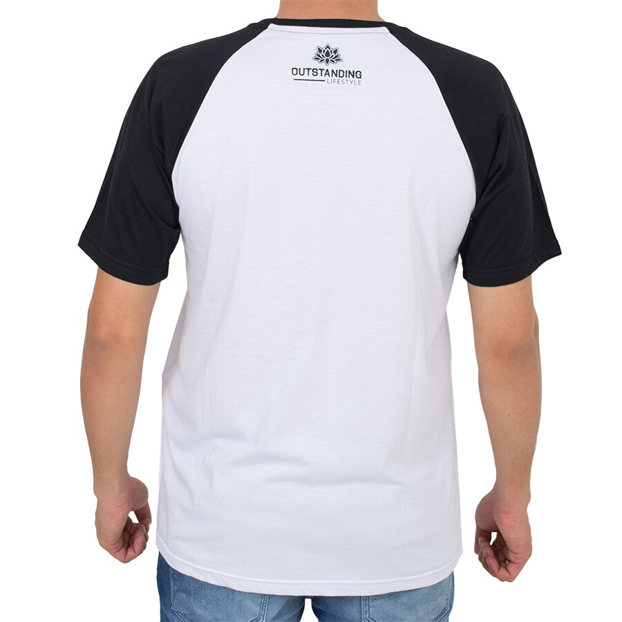 Camiseta Outstanding Bear Branco / Preto