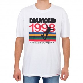Camiseta Diamond Nineties Branca