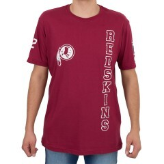 Camiseta New Era Washington Redskins Bordô
