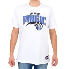 Camiseta New Era Orlando Magic Branca