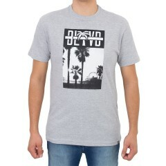 Camiseta BLVD Beach Tee Cinza