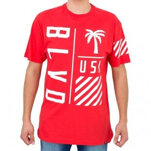 Camiseta Blvd On Point Tee Vermelha Original