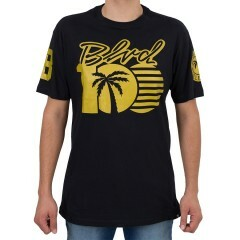 Camiseta BLVD Keep It 100 Tee Preta