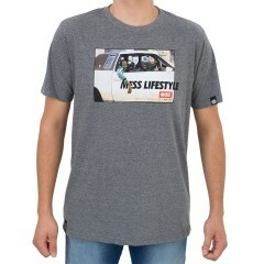 Camiseta Mess Carro Mescla