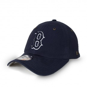Boné New Era Strapback Boston Red Sox 9Twenty Aba Curva Marinho