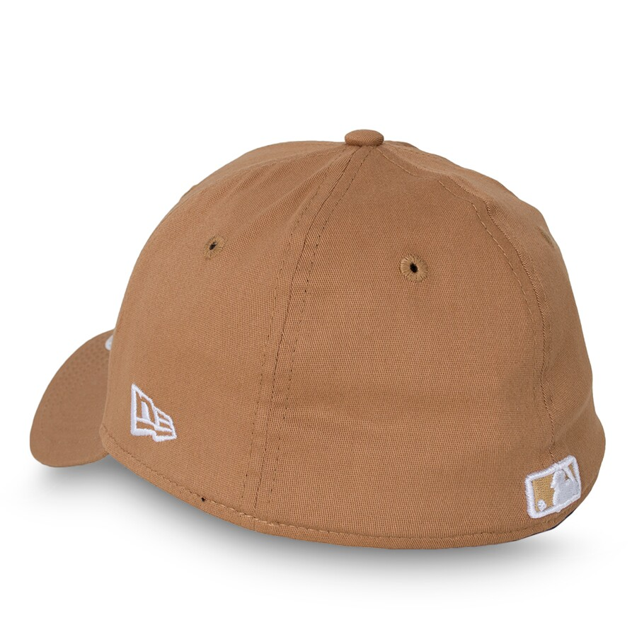 Boné New Era 39Thirty Los Angeles Dodgers Aba Curva Marrom