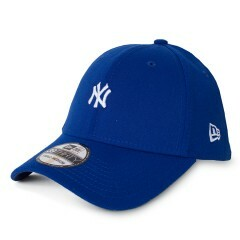 Boné New Era 39Thirty New York Yankees Mini Logo Aba Curva Azul