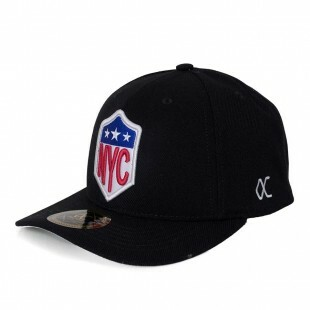 Boné Other Culture Snapback NYC Aba Curva Preto