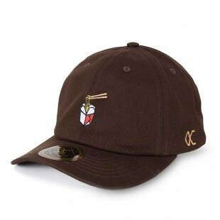 Boné Other Culture Strapback Yaki Dad Hat Marrom
