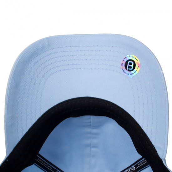 Boné Dep Strapback Light Dad Hat Aba Curva Azul