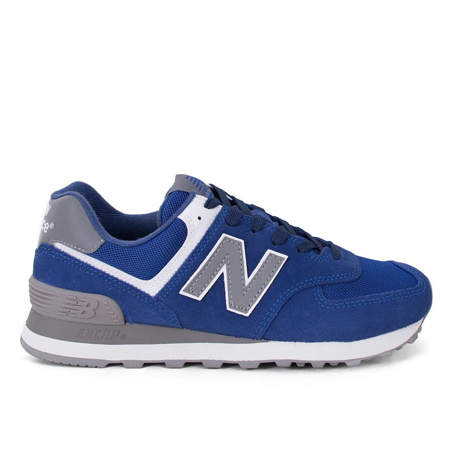 sports shoes 39966 09740 Tênis New Balance 574 Lifestyle Azul Feminino