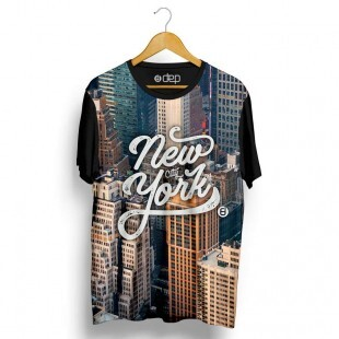 Camiseta Dep New York Cinza
