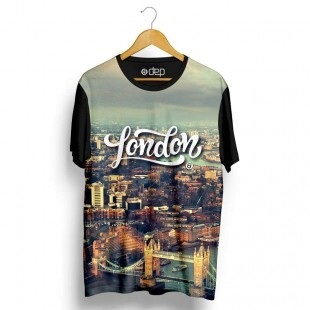 Camiseta Dep London Cinza