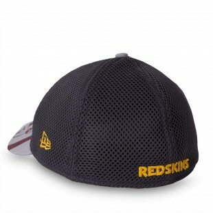 Boné New Era 39Thirty Washington Redskins Cinza