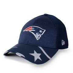Boné New Era 39Thirty England Patriots Marinho